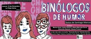 Textos de Santiago Marcos &#34Binólogos de Humor&#34