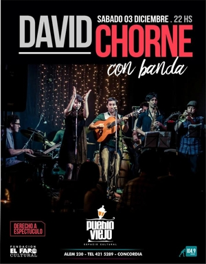 David Chorne presenta &#34Caras&#34