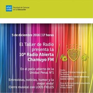 Radio Abierta Chamuyo en la Unidad Penal N°1
