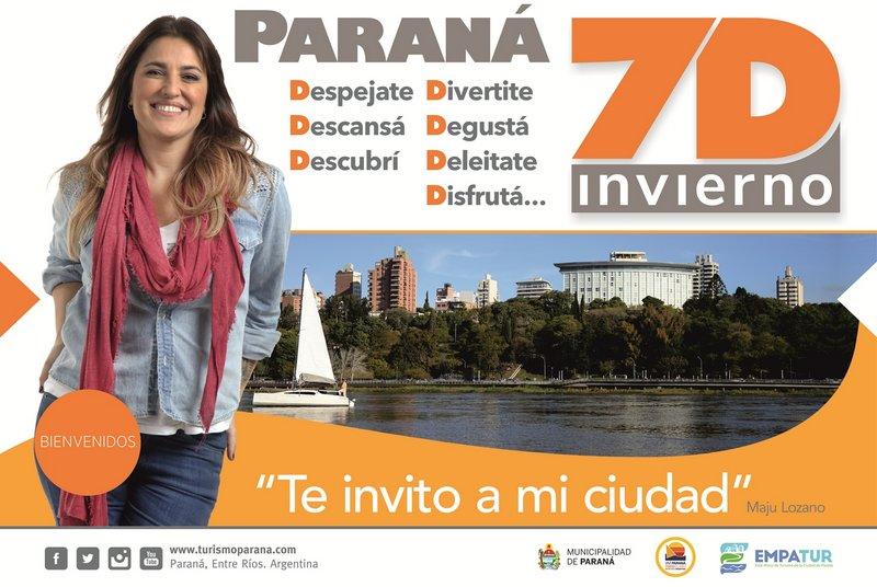 Se lanzó en Paraná el programa turístico 7D