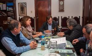 Varisco analizó con la titular de Vialidad provincial las obras de los accesos a Paraná