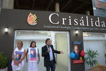 El Intendente Varisco participó del acto de inauguración de la sede social de la Fundación Crisálida