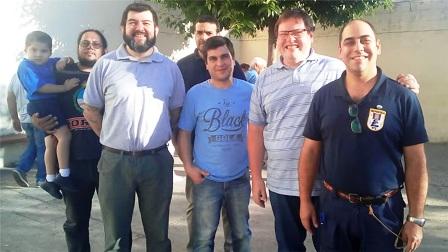 Compañeros de estudio homenajeron a tripulante entrerriano del ARA San Juan