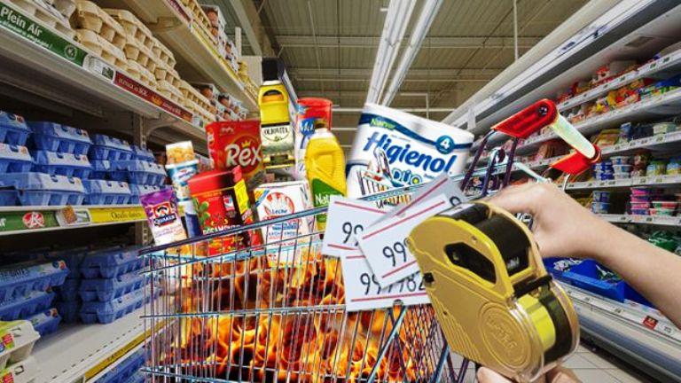 Fuerte remarcación en alimentos reaviva la inflación